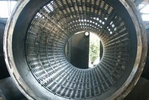 Rotore del vaglio rotante