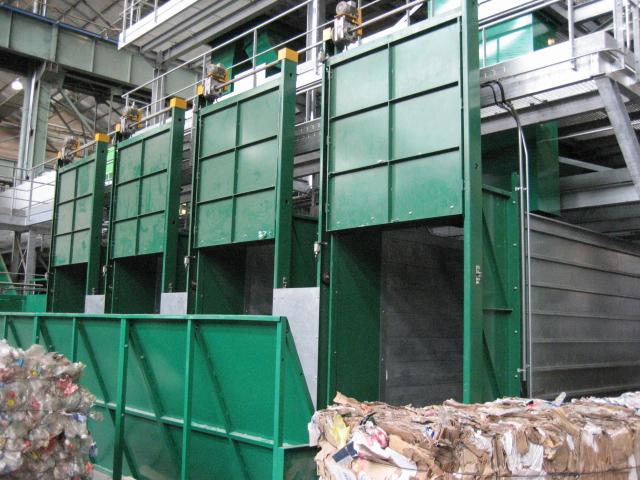 Planta de Tratamiento de Residuos Semiautomática