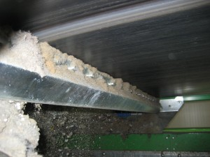 Raschiatore in acciaio al tungsteno