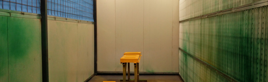 The new painting booth is ready!