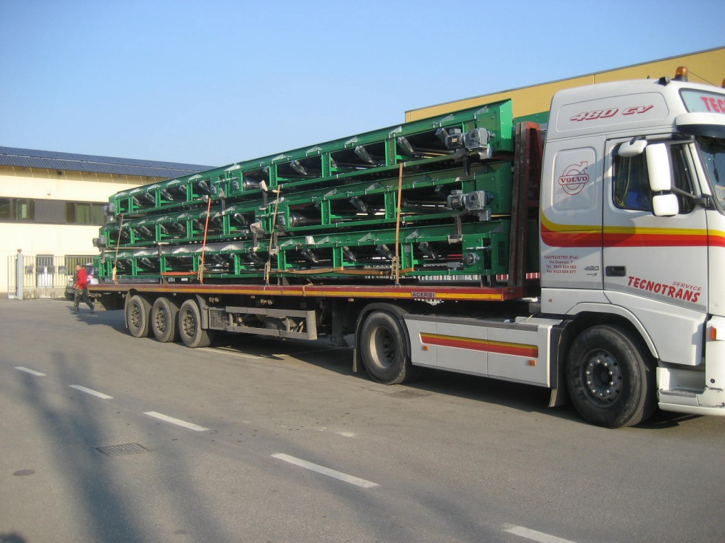 Belt Conveyors transport